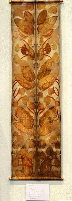 Handmade by Caroline ~ Gallery Shibori, Fabric Painting, Fabric Art, Fabric Crafts, Textile Dyeing, Textile Art, Textiles Techniques, Embroidery Techniques, Bohemian Crafts