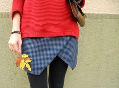 m é l i m é l o: Origami skirt