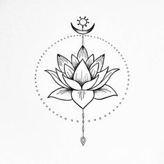 The Lotus flower. Peace and harmony illustration. The Lotus flower. Peace and harmony illustration. The Lotus flower. Peace and Kunst Tattoos, Tattoo Drawings, Body Art Tattoos, Small Tattoos, Tatoos, Sweet Tattoos, Art Drawings, Lotus Tattoo Design, Flower Tattoo Designs