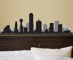 City Skyline Wall Decals are a fantastic way to decorate your empty and blank walls. Our decals are easy to apply and long lasting. They come along with a transfer tape so all you have to do is, stick them to your walls rub the tape with something like a credit card and peel off the tape. Simple! This Skyline Decal comes only in the colors as in the image. Its Black and Grey. If youd like us to customize the colors, please add a note during checkout and well customize it for you. PLEASE ADD…