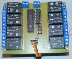 Picture of Connecting the I2C Relay Board