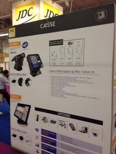 15/09/2016 - Salon Rapid Resto : JDC - caisse enregistreuse et autre matériel interconnecté pour facilité la vie et faire gagner du temps du restaurateur