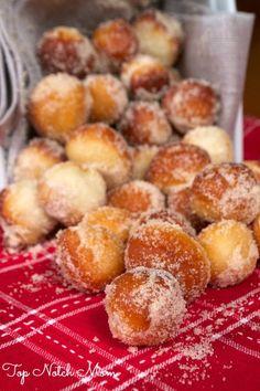 Cinnamon Sugar Donut Holes    www.topnotchmom.com