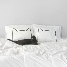 Cat Nap Pillow Case Set by #xenotees