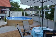 trädäck,altan,pool,vimplar