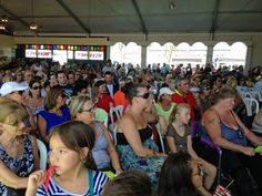 The crowd came to show their BURNING LOVE at the 16th Elvis Festival at the OC Market Place.