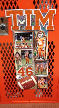 Locker Decoration *Made by Jackie*