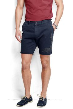 La Performance Hommes Short Chino - 30 - Terres Bleues Se Terminent YmLLBQ