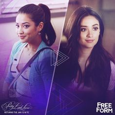 Emily Fields Flashback + Flash forward.   Don't miss the PLL winter premiere Tuesday, January 12 at 8pm|7c on Freeform, the new name for ABC Family.