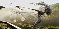 These amazing fairy sculptures were inspired by a real-life encounter #travel #roadtrips #roadtrippers
