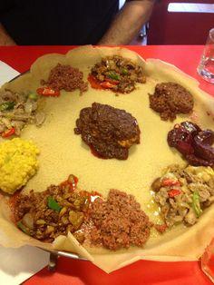 my favorite food ever..ethiopian..i got a craving!