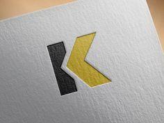 Logo Desing, Branding Design, Logo Branding, Initials Logo, Monogram Logo, Education Logo Design, K Logos, Photography Logo Design, Construction Logo