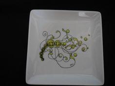 Zentangle plate #3 #25