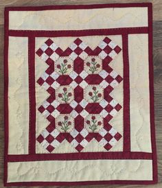 Little Red Fourteen - Red Button Quilt Co.