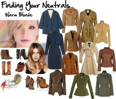 What's Your Best Neutral - Blonde Hair - what neutrals can you wear if black isn't idea for your colouring?