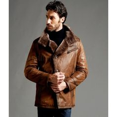 Men&39s Turkey Sheepskin Classic B-3 Bomber Jacket | For the sexiest
