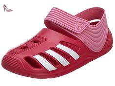 Adidas Zsandal Big Kids Style: B44457-vivber / ftwwht / sesopk Taille: 12 - Chaussures adidas (*Partner-Link)