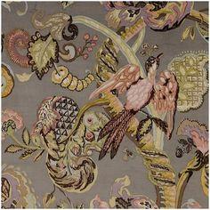 Poppinjay Velvet Fabric