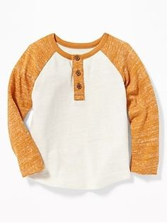 Old Navy Toddler Boys' Color-Blocked Sweater-Knit Henley Rust/Cream Regular Size Toddler Boy Haircuts, Girl Haircuts, Toddler Boy Outfits, Kids Outfits, Toddler Boys, Kids Boys, Toddler Winter Fashion, Little Boy Fashion, Fall Fashion