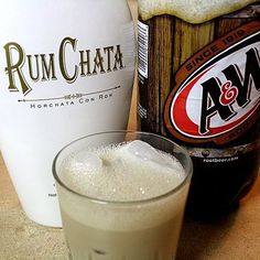 RumChata and Rootbeer (1:1 ratio or 2 root beer:1 Runchata) -- they say Dad's or A&W rootbeer works best, others can curdle