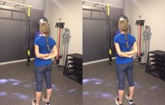 7 Best Shoulder Stretches for Pain - Shoulder Pain Exercises Shoulder Pain Exercises, Shoulder Workout, Rounded Shoulder Exercises, Posture Exercises, Back Exercises, Kyphosis Exercises, Exercises For Better Posture, Osteoporosis Exercises, Posture Correction Exercises