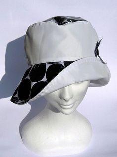 226aaa94e9aca ladies stylish rain hat women hat waterproof fabric fold