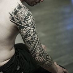 150+ Most Popular Tribal Samoan Tattoo Designs Of All Time awesome  Check more at http://fabulousdesign.net/samoan-tattoos/