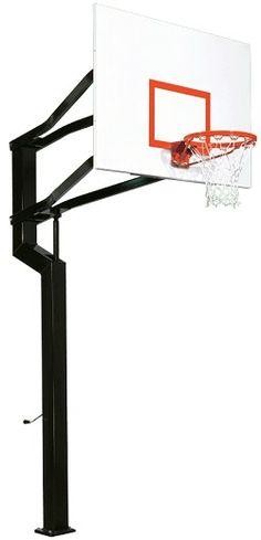 Goalsetter Basketball Hoop Internal Captain 60 in. Steel Backboard