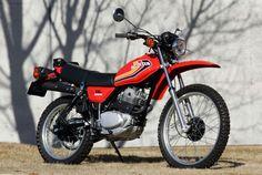 伝え残したい名車 vol.13『1979 HONDA XL250S』 Honda Bikes, Honda Motorcycles, Vintage Motorcycles, Motocross Baby, Womens Motorcycle Helmets, Motorcycle Girls, Ducati Monster Custom, Old Bicycle, Motosport