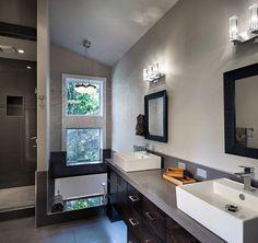 Серая ванная комната - сочетание с белым, черным. Серые тона, плюсы и минусы