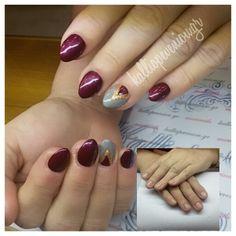 #nails #nailart #acrylicnails #wintermood #beautymakesyouhappy