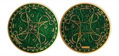 Hide*seek: Tengwar Large Geocoin