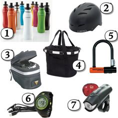Bike To Work Gear Commuting on my bike to work requires a little bit of prep time. So for those of you who are considering it, already do it or are shopping for someone who does it…here are some of my favorite 'bike to work' gift ideas. http://blog.gifts.com/gift-trends/bike-to-work-commuter-essentials