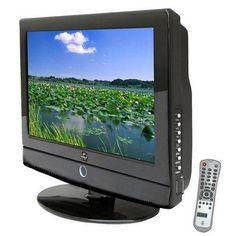 15.6'' Hi-Definition Flat Panel LCD TV