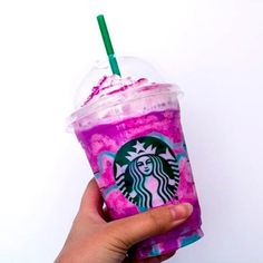 Starbucks Unicorn Frappuccinos Are REAL And They're On Their Way