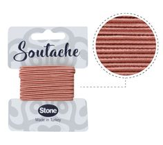 Cordon soutache 3mm blush ST2102 x 2.5m