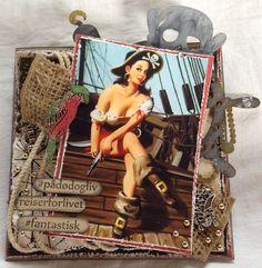 Min hobbyverden: DT Martha Stewart, Magnolia, Aqua, Wonder Woman, Scrapbook, Superhero, Handmade Cards, Disney, Fictional Characters