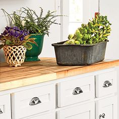 20. Maple Countertops - Smart Cottage Style Home - Southern Living