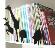 Animal Index by +D. I like the idea of dividers, but perhaps something that can be written on or subject/author based?