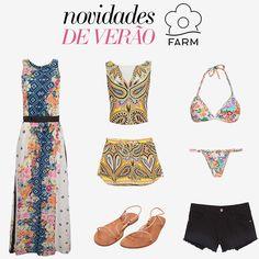 Compre moda com conteúdo, www.oqvestir.com.br #Fashion #Summer #Farm #Dresses #Print #Shop