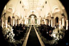 Casamento Nathália & Carlos #casamento #wedding #igreja #church #decoração #decor