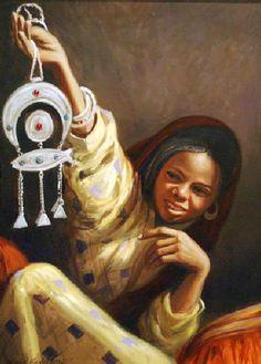 Art and Other Demons Color Pencil Sketch, Arabian Art, Black Art Pictures, Egypt Art, Painter Artist, Black Girl Art, Islamic Art Calligraphy, Old Art, African Art