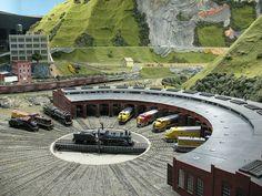 たった一人で作り出した世界最大の鉄道模型「Northlandz」