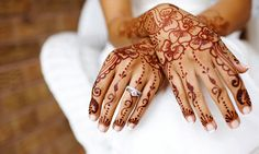 The Meaning of Mehndi and where it originated from. Read the article - it's pretty interesting.