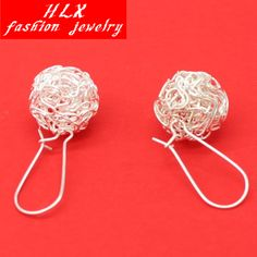ER166  Girl fashion wild ball Yinsi hollow silver plated Drop Earrings for Women jewelry accessories♦️ SMS - F A S H I O N 💢👉🏿 http://www.sms.hr/products/er166-girl-fashion-wild-ball-yinsi-hollow-silver-plated-drop-earrings-for-women-jewelry-accessories/ US $0.30