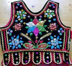 Polish Folk Art, Fashion Vocabulary, Jean Outfits, Art Deco, Tank Man, Embroidery, Mens Tops, Birthdays, Needlepoint