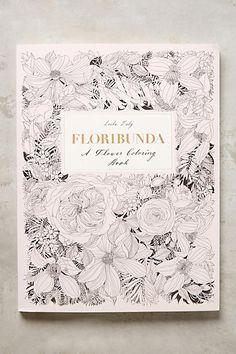 Floribunda Coloring Book - anthropologie.com