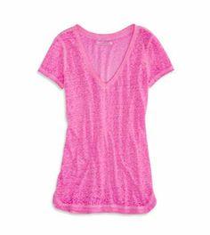 AE Favorite V-Neck T-Shirt