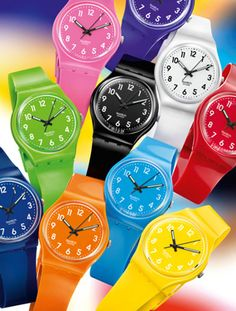 Swatch Colour Codes Collection - The Watch Daily - The Watch Avenue