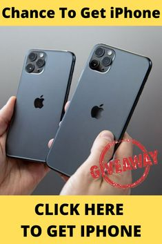 How to get a free iPhone 11 from apple? Get a free 11 . Get a free phone upgrade with this Right now you can enter for the chance to win an 11 ! Receive the brand new 11 upon sign-up! Check My Site for more info. Get Free Iphone, Best Iphone, Iphone 11, Apple Iphone, Iphone Online, Android Phone Cases, Iphone 7 Cases, Iphone Operating System, Win Phone